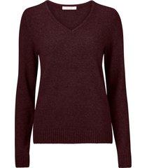 tröja viril v-neck knit top
