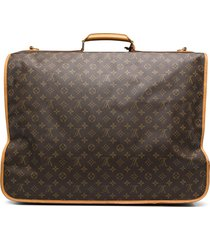 louis vuitton 1990s pre-owned monogram suitcase - brown