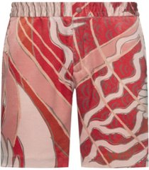 hugo men's david213sf1 shorts with crane print