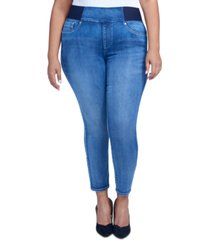 seven7 jeans trendy plus size the ultra high-rise skinny legging jeans