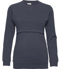 b warmer sweatshirt sweat-shirt tröja blå boob