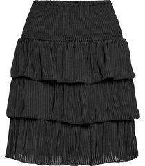 vianilla nw skirt kort kjol svart vila
