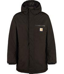 carhartt techno fabric padded jacket