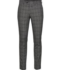 slhslim-carlo cotflex pants b noos kostuumbroek formele broek grijs selected homme