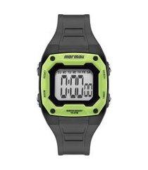 relógio digital mormaii feminino - mo9451ac preto