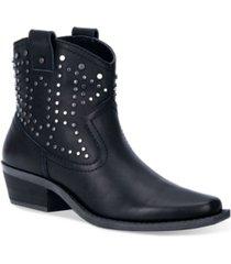 dingo women's dusty leather bootie women's shoes