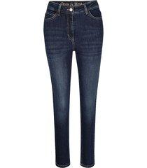 7/8-jeans mona donkerblauw