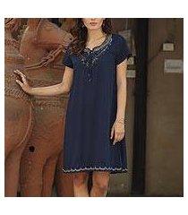 beaded tunic-style dress, 'jaipur glamour' (india)