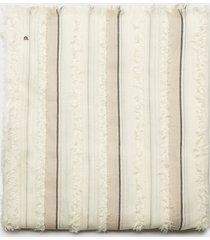motivi sciarpa a righe jacquard donna beige