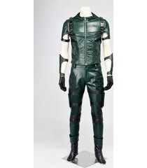 green arrow season 4 oliver queen cosplay costume adult male halloween outfit