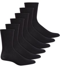 hue women's 6 pack crew socks