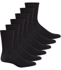hue women's 6 pack crew socks
