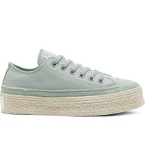 converse trail to cove espadrille chuck taylor all star low top para mujer