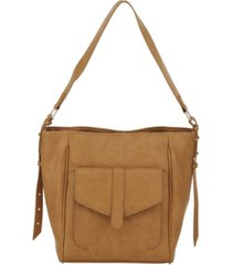 kensie women's boho bucket bag fashion tote bag