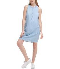 calvin klein jeans garment dye dress