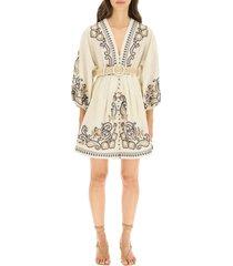 zimmermann aliane dress with paisley embroidery
