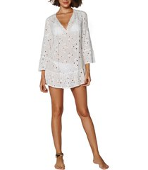 women's vix swimwear lace cover-up tunic