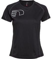 core coolskin tee t-shirts & tops short-sleeved svart newline