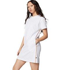vestido converse fashion white para mujer white