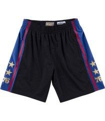 mitchell & ness philadelphia 76ers men's rings shorts