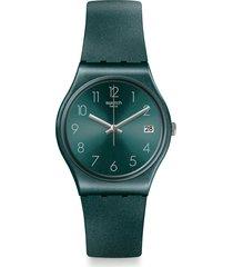 reloj swatch unisex ashbaya/gg407 - verde
