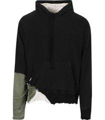 fragment hoodie, black