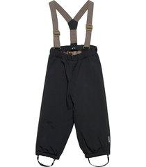 wilas suspenders pants, k outerwear snow/ski clothing snow/ski pants svart mini a ture