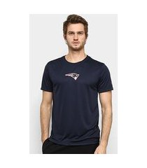 camiseta nfl new england patriots neon id shadow new era masculina