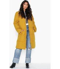 jacqueline de yong jdyerica x-long padded jacket otw h dunjackor