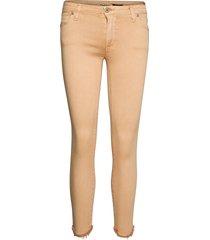 catwoman cotton smala byxor stuprör beige please jeans