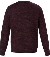 trui met ronde hals van louis sayn rood