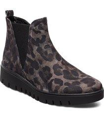 ankle boots stövletter chelsea boot grå gabor