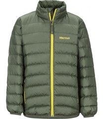 chaqueta highlander down verde marmot