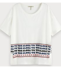 scotch & soda aloha to you t-shirt