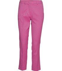 hateley pantalon met rechte pijpen roze weekend max mara