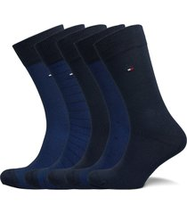 th men sock 5p birdeye tin giftbox underwear socks regular socks blå tommy hilfiger