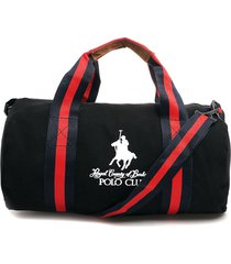 maletín negro-rojo-azul royal county of berkshire polo club