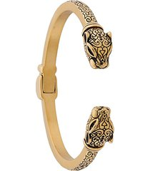 nialaya jewelry jaguar head bracelet - gold
