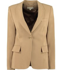 michael michael kors single-breasted slim fit blazer