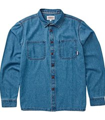 camisa hombre 97 workwear denim azul cielo billabong