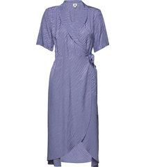 ebba dress dresses wrap dresses blå twist & tango