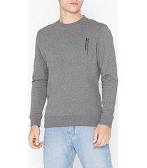 l'homme rouge needs logo sweater tröjor grey melange