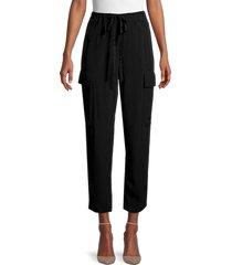bailey 44 women's guerilla capri pants - olive - size l