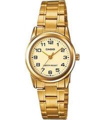 relógio feminino casio analógico ltpv001g9budf