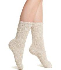 women's barefoot dreams cozychic socks, size one size - beige