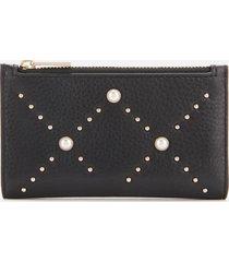 kate spade new york women's hayes street pearl mikey wallet - black