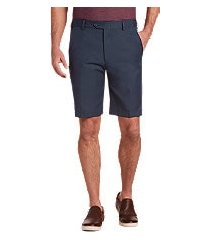 traveler collection tailored fit flat front shorts - big & tall by jos. a. bank