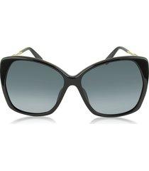 marc jacobs designer sunglasses, mj 614/s square oversized women's sunglasses