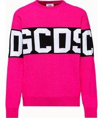 gcds maglia rosa logo fluo