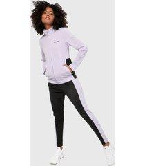 chaqueta lila-negro adidas performance plaint tricolor